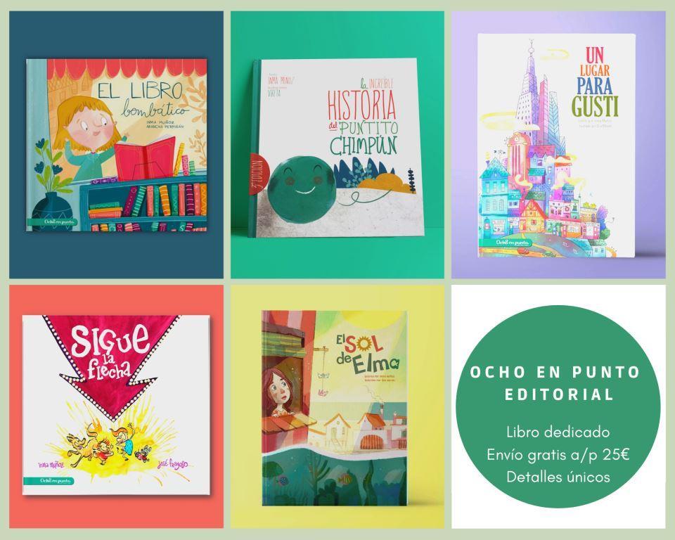 Libros infantiles Ocho en punto editorial